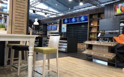 PMS mit CARSTENS Shop-Einrichtungen und Digital Retail Lösung auf der UNITI expo 2018