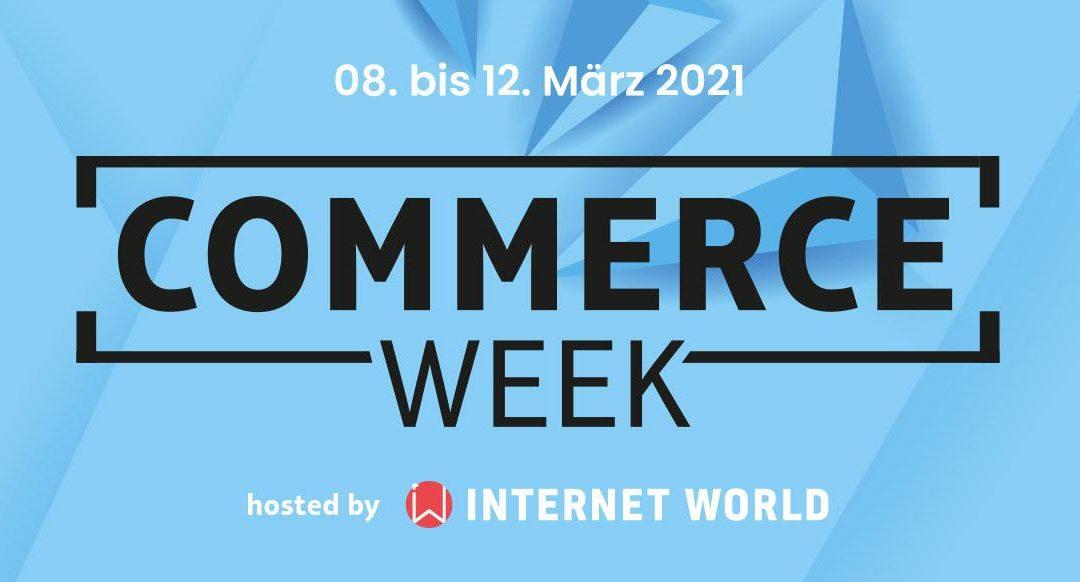 Commerce Week 2021 – Digitalisierung am Point of Sale