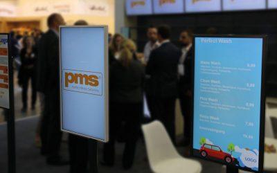 PMS zeigt weitere Customized Display und Softwarelösungen auf der ISE 2019