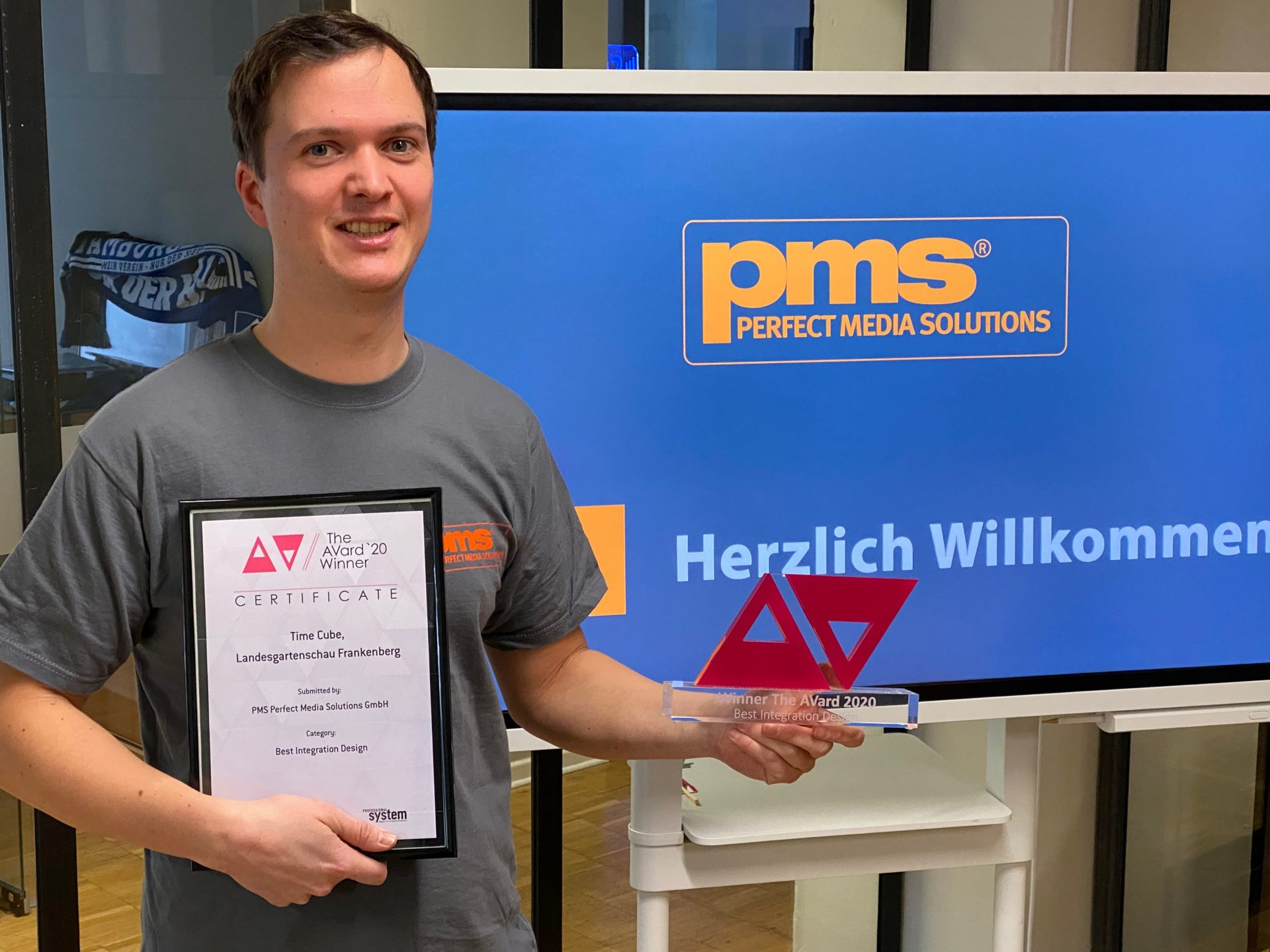 """Best Integration Design"" – PMS gewinnt AVard 2020"